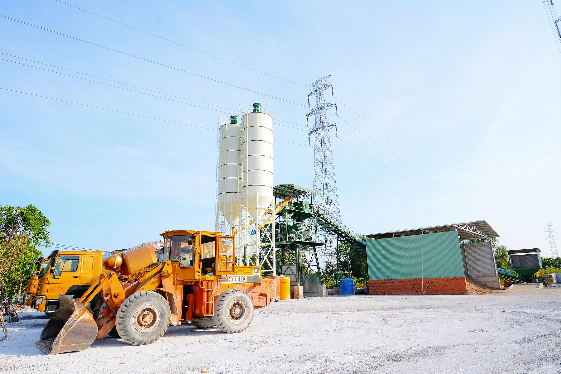 CAN DUOC BETON PLANT - LONG AN